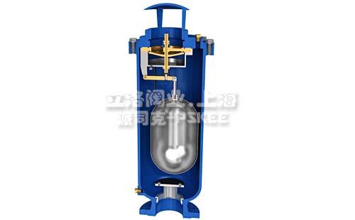 污水排气阀原理图