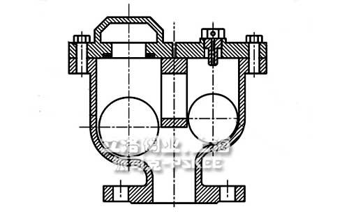 双口排气阀原理图