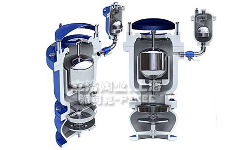 防水锤排气阀原理图